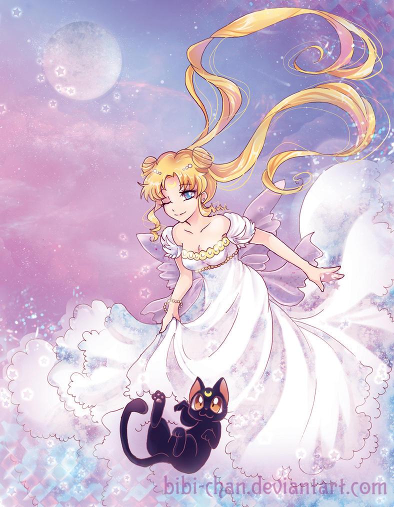 : Queen Serenity : by bibi-chan