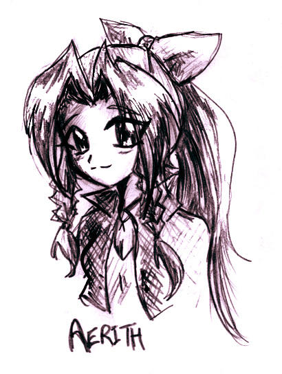 Aerith by bibi-chan