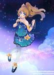 :: Commission - Nova Beneath the stars :: by bibi-chan