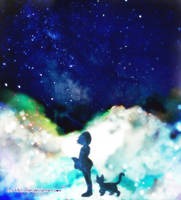 She and her Celestial Cat