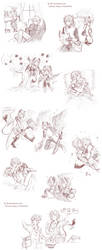 Erebos x Ximander :: sketches page by bibi-chan