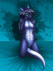 Sit Pretty, Ombra by CocoFoxStudios
