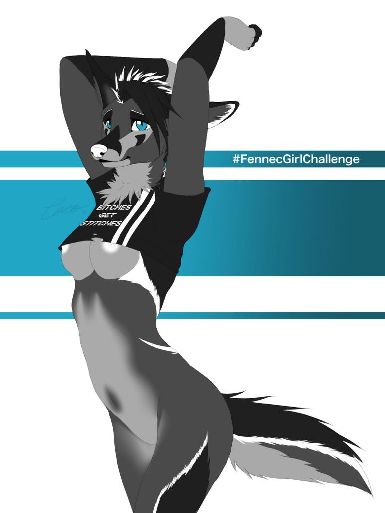#FennecGirlChallenge by CocoFoxStudios