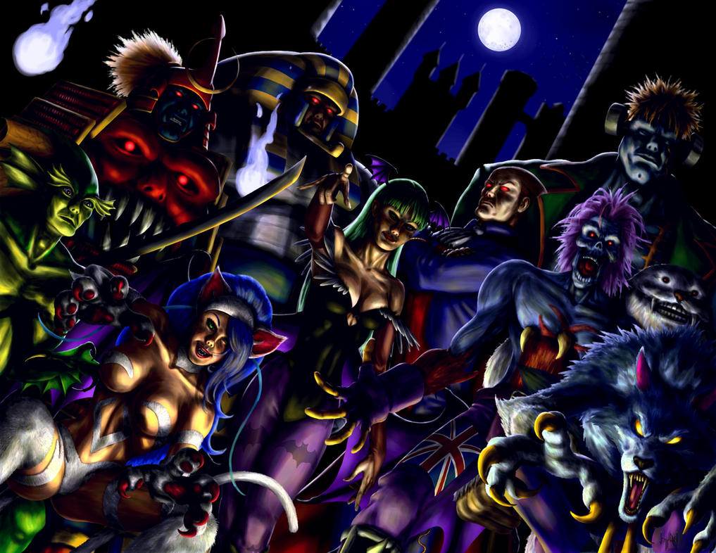 Darkstalkers by HarryBuddhaPalm