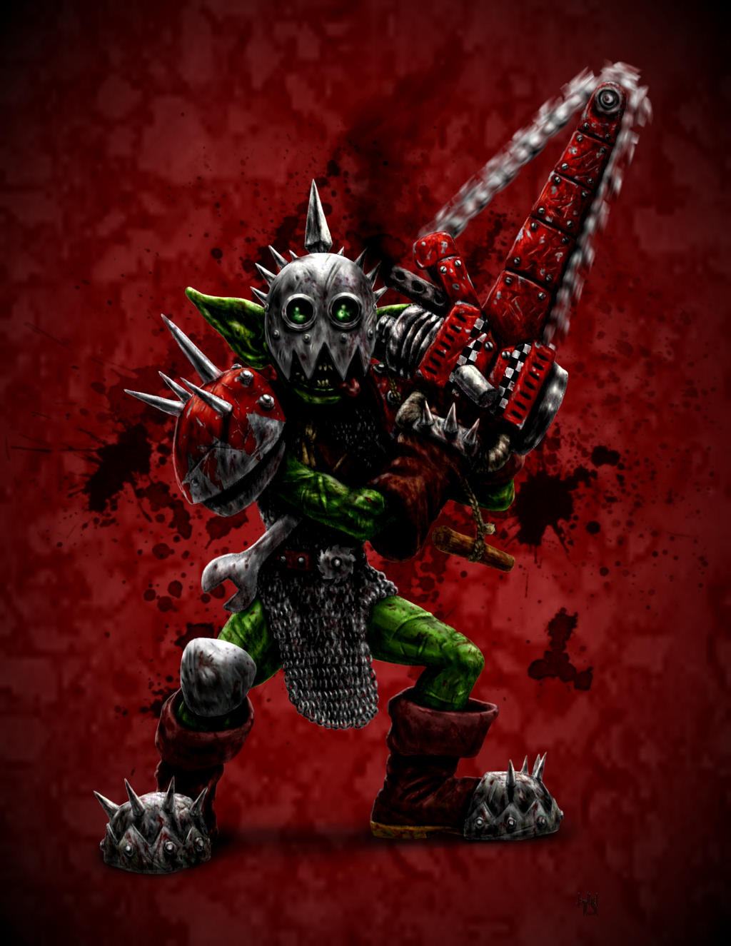 Blood bowl art... Nobbla_blackwart_by_harrybuddhapalm-d2637pv