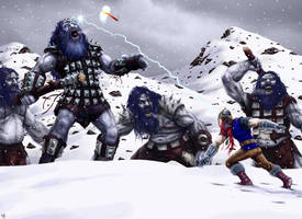 Thor by HarryBuddhaPalm