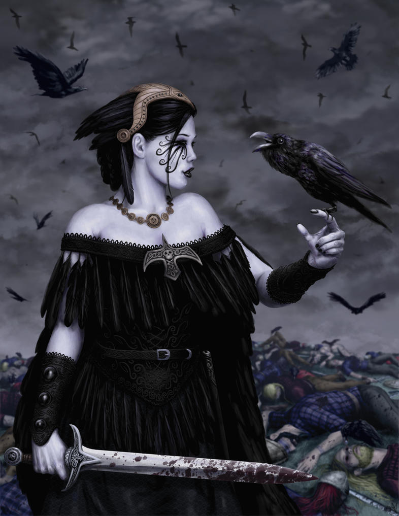 The Morrigan by HarryBuddhaPalm