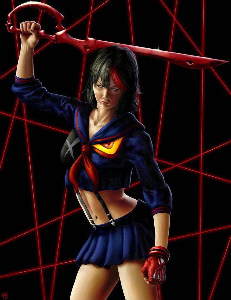 Ryuko Matoi 1 by HarryBuddhaPalm