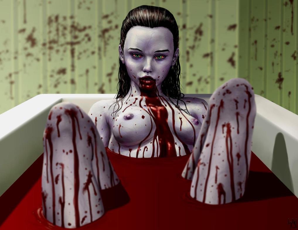 Blood Bath by HarryBuddhaPalm