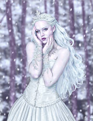 Snow Queen by HarryBuddhaPalm