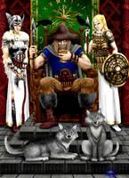 Odin by HarryBuddhaPalm