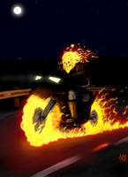 Ghost Rider by HarryBuddhaPalm