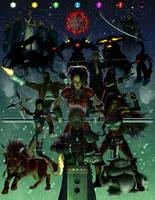 Final Fantasy VII by HarryBuddhaPalm