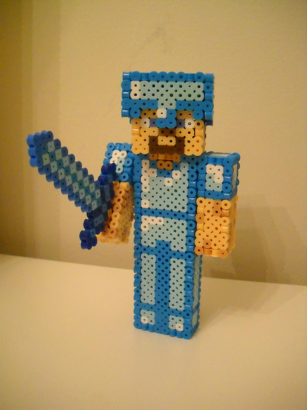 Minecraft Diamond Armor Steve By Retroninnin On Deviantart