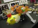 plyin with toys....