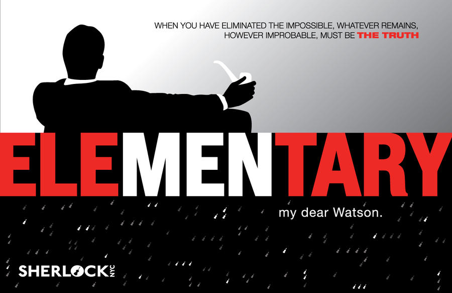 eleMENtary-Poster-Sherlocknyc-outlined by BeforeMyVoices