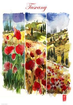 Tuscany print