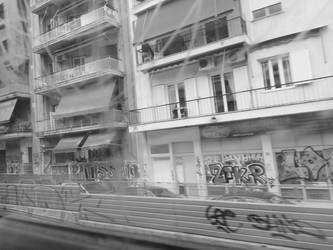 On the train, 3 by Mits-Giotix