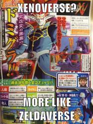 Domigannon, of Dragon Ball ZeldaVerse! by Doomslicer