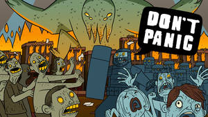 Don't Panic 1600x900 HD Wallpaper by CheapThrillsGlmrKlls
