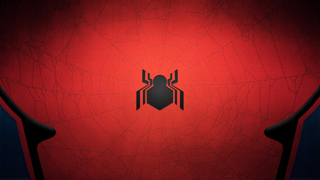 Civil War Spider Man Minimal Wallpaper 2 By TheSproutingArtist