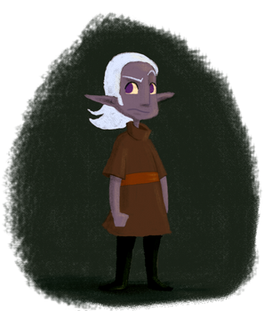 a little drow