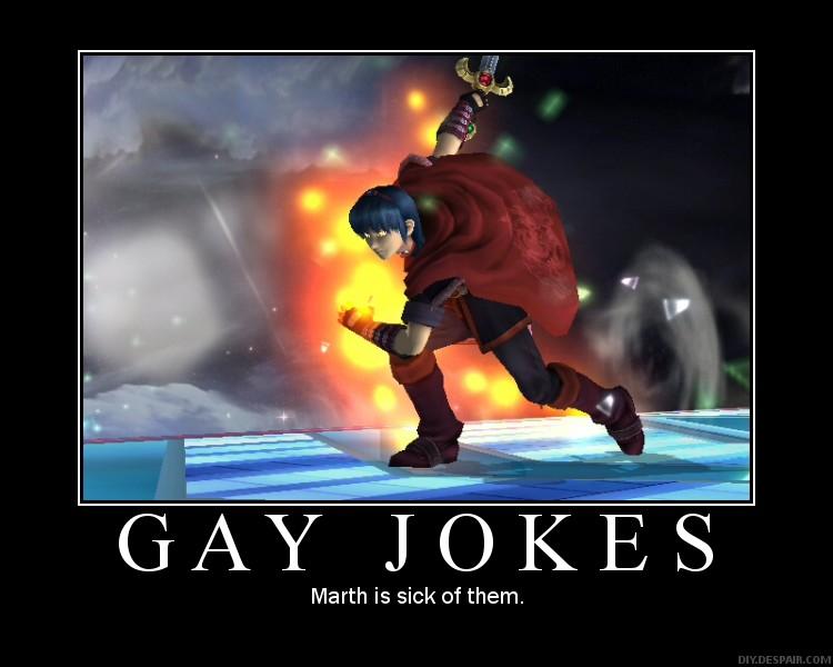 from Mohamed gay joke comebacks