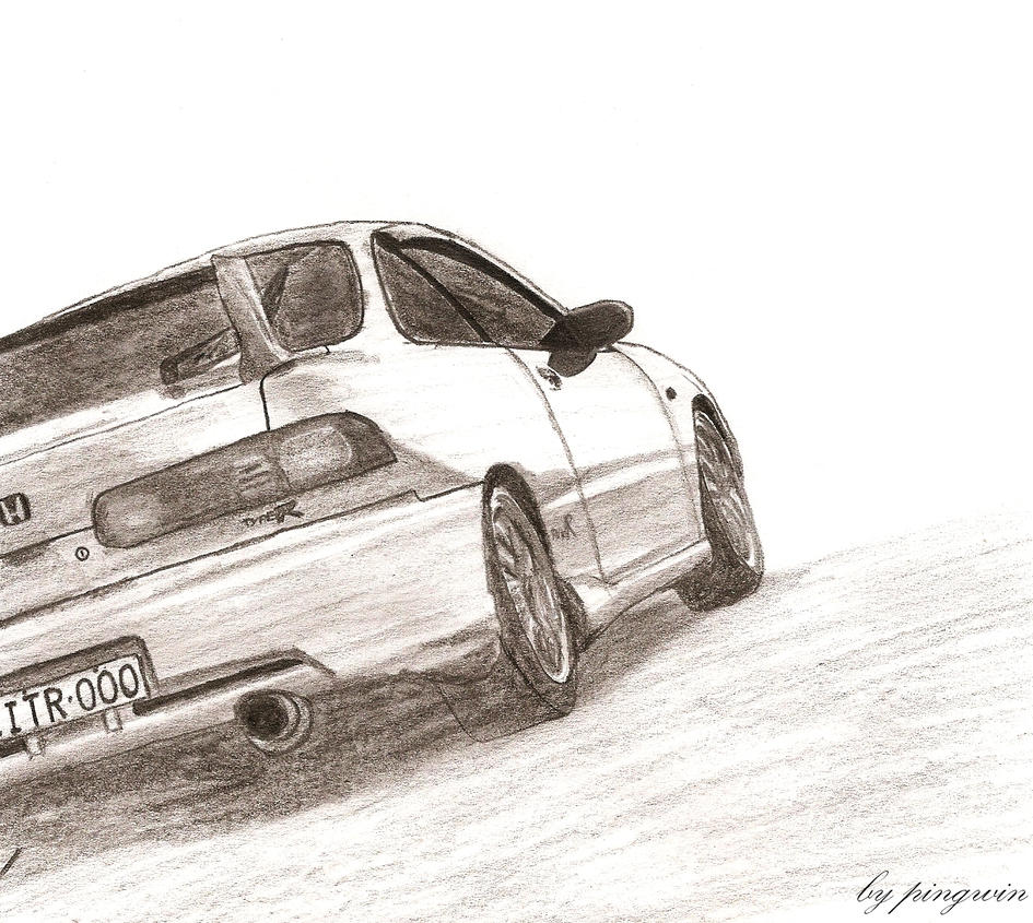 Honda Integra Type R By Penguinsosei On DeviantArt