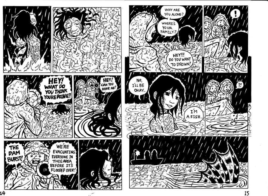 The Girl Who Turned Into a Fish (page 14-15) by maryfgr23 ...