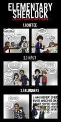 Elementary/Sherlock Juxtaposition by maryfgr23