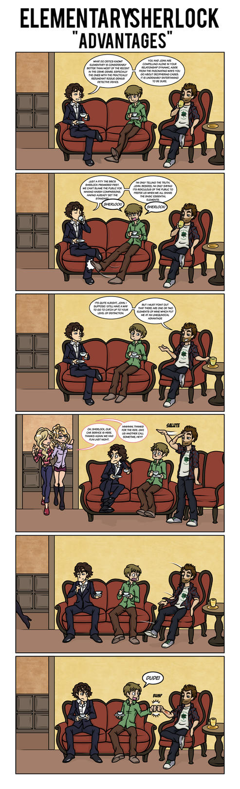 Elementary/Sherlock Advantages by maryfgr23