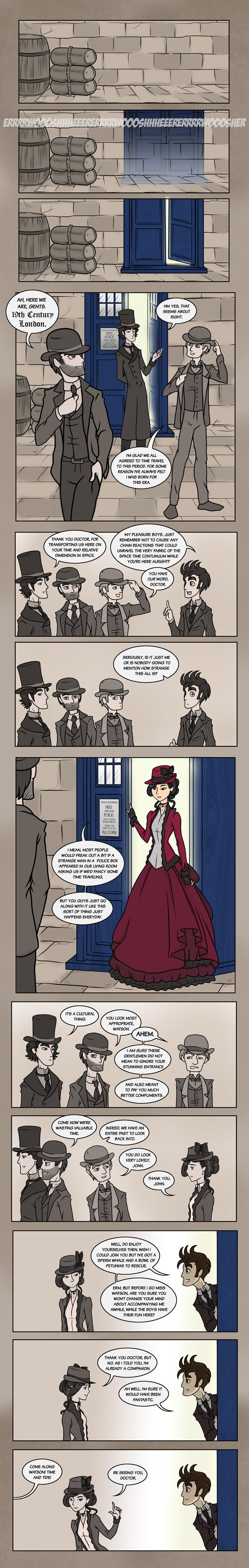 Elementary/Sherlock SPECIAL: Part One by maryfgr23
