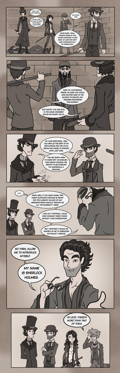 Elementary/Sherlock Special: Part Four by maryfgr23