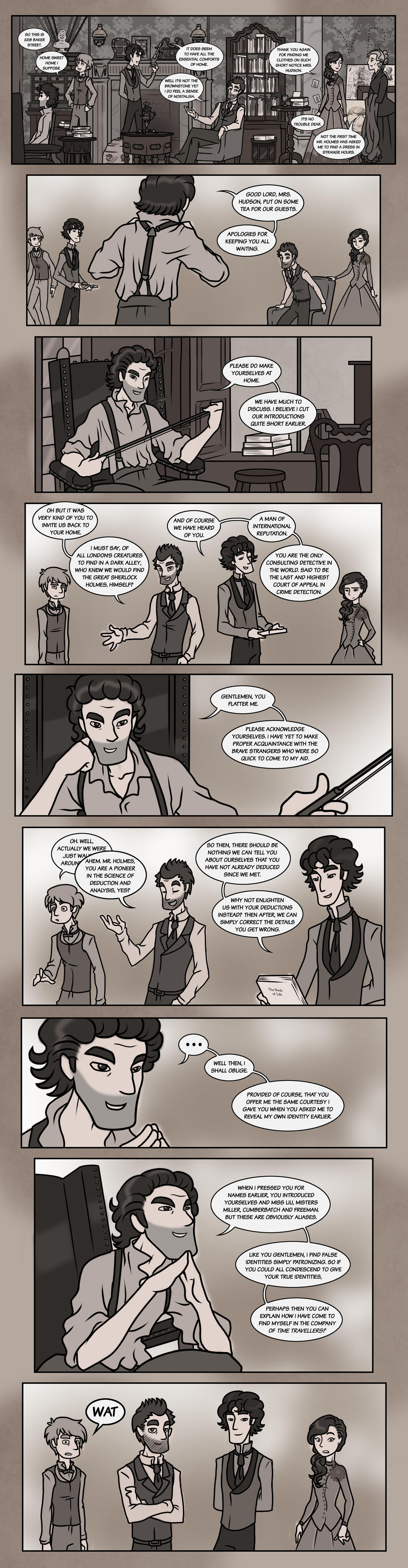 Elementary/Sherlock Special: Part Five by maryfgr23