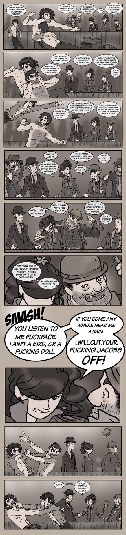 Elementary/Sherlock Special: Part Thirteen by maryfgr23