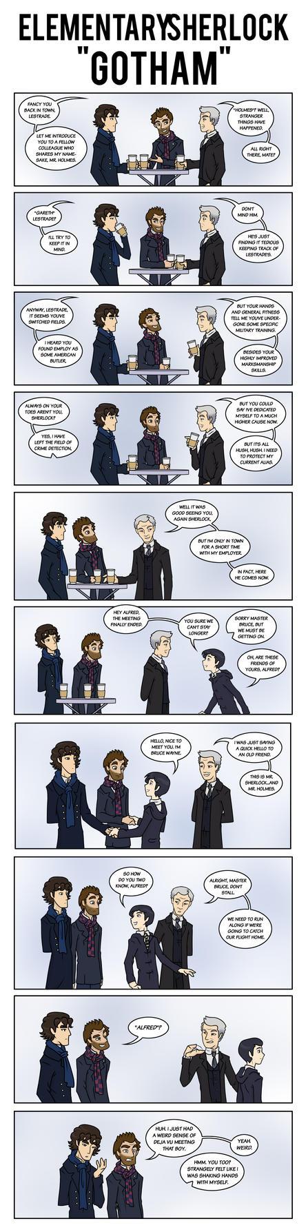Elementary/Sherlock: Gotham by maryfgr23