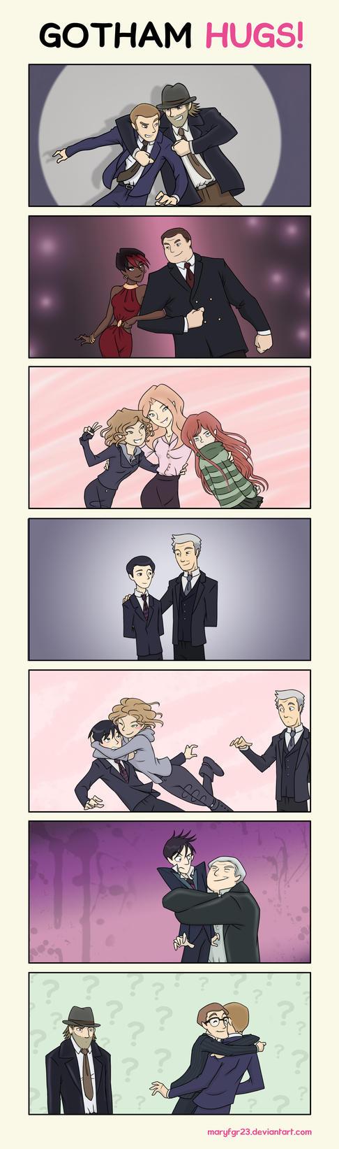 Gotham Hugs by maryfgr23