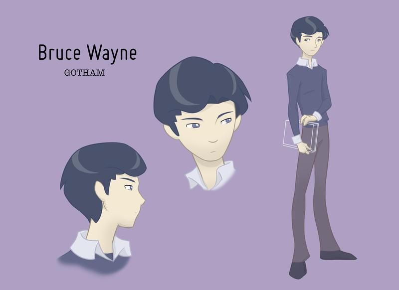 Gotham: Bruce Wayne Color Test by maryfgr23