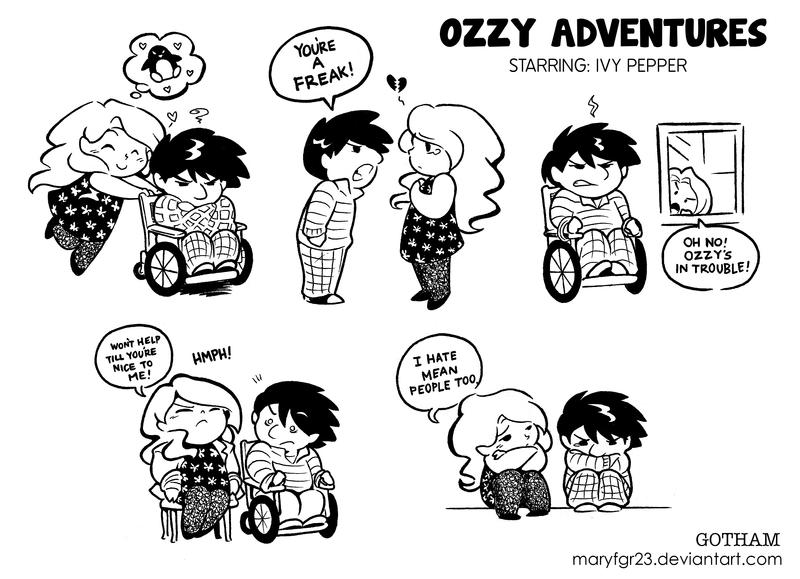 Ozzy Adventures: Starring Poison Ivy! by maryfgr23