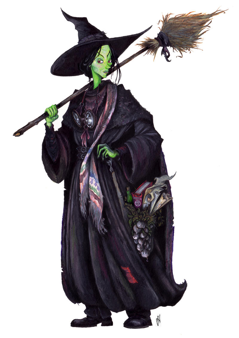 The Wicked Witch of the West by Weatherduck