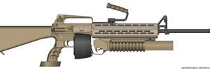 M16a2 Lmg kit