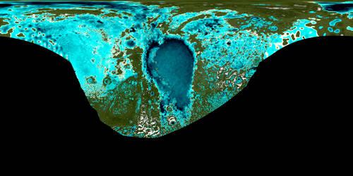 Terraformed Pluto 16K (real topographic data)