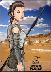 Toni Gutierrez Art Rey Inks+color by Lion542