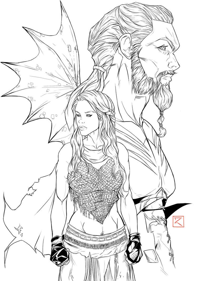 Toni Gutierrez Art Game of thrones by Lion542