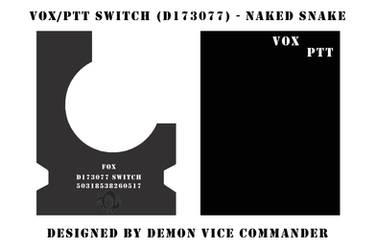 VOX-PTT Switch Box Snake Eater