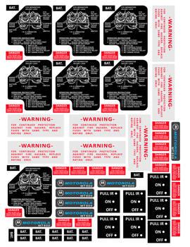 Ecto Goggle Labels