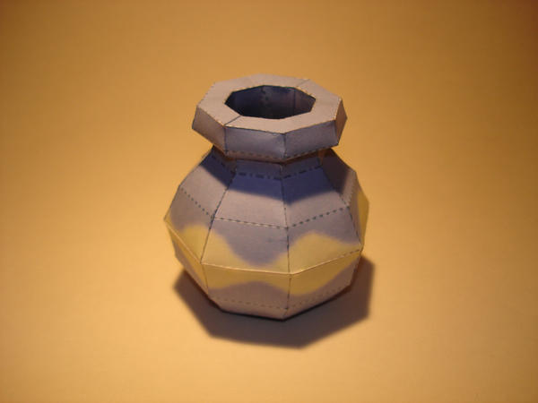 Wind Waker Pot Papercraft by Skele-kitty