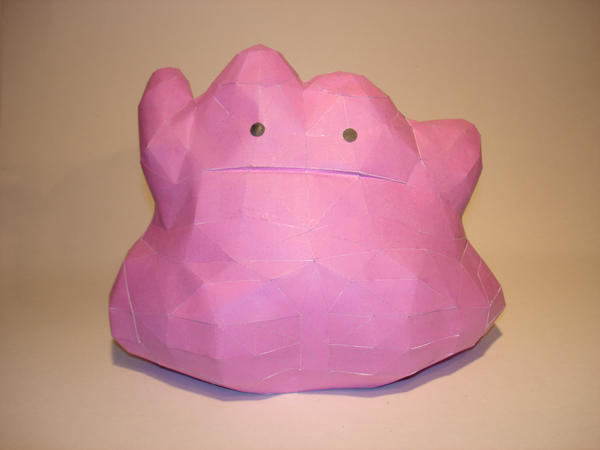Ditto Papercraft by Skele-kitty
