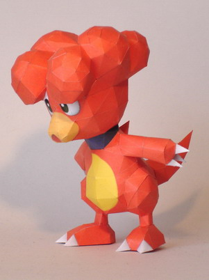 Magby Papercraft by Skele-kitty