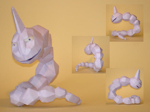 Onix Doll Papercraft by Skele-kitty